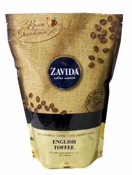 ZAVIDA Angielskie Toffi (English Toffee) 907g ziarnista