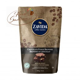 ZAVIDA Czekolada Brownie (Chocolate Fudge Brownie) 340g ziarnista