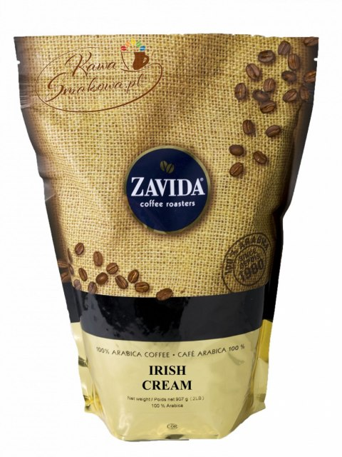 ZAVIDA Irlandzki krem (Irish Cream) 907g ziarnista